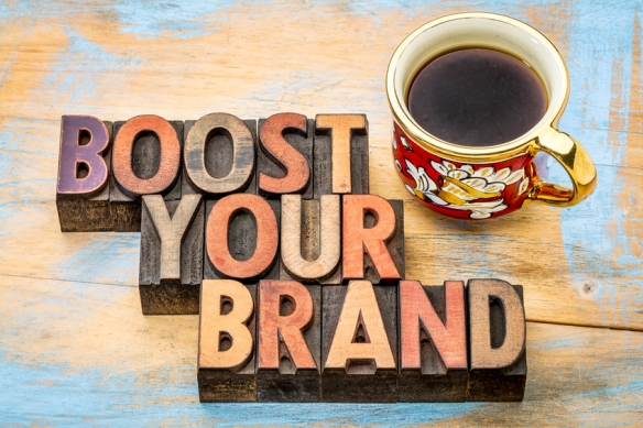 boost your brand  in wood type